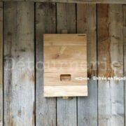 Nichoir chauves-souris N°12 grand modèle en pin sylvestre , face