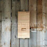 Gîte chauves-souris N°11 en pin sylvestre